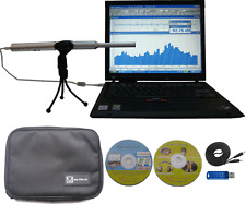 PC Real Time Audio Spectrum Analyzer,Sound Level Meter,Polarity Tester, RTA-168A