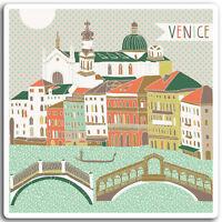 2 x 10cm Venice Italy Vinyl Stickers - Italian Fun Sticker Laptop Luggage #17025