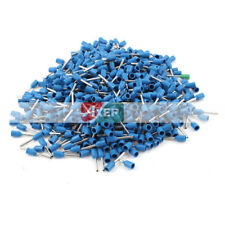 1000Pcs E0508 Wire Copper Crimp Connector Insulated Pin Terminal for AWG 18 300V