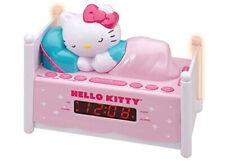 HELLO KITTY Dual Alarm Clock FM/AM Radio with Night Light