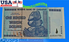 100 TRILLION ZIMBABWE DOLLARS UNCirculated CURRENCY [BILLION Million 5 10 20 50]