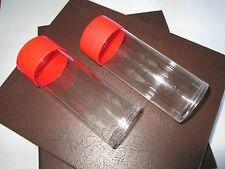 2  Storage Tubes for H Model Type Coin Capsule Holders