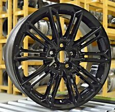 "19"" Toyota Avalon 2019 Factory OEM Rim Wheel Gloss Black Full Set"