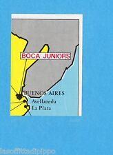 FOOTBALL CLUBS-PANINI 1975-Figurina n.11- CARTINA ARGENTINA 2/4 -Rec
