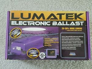 LUMATEK XTEDW400 DIMMABLE ELECTRONIC BALLAST 400W 120/240V for GROW LIGHT