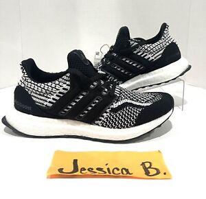 Adidas UltraBoost 5.0 DNA Black White Oreo G58431 Size 6.5 / Women's 8 NWT $160