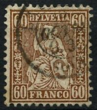 Switzerland 1862-64 SG#59, 60c Copper-Bronze Used #D76648