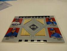 2002 U.D. Bat Around Game Used Bats Gonzalez,Rodriguez, A.Rod,Palmero # BA-GRPR