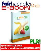 Die HCG-Diät - EBOOK PDF Ratgeber Gesundheit Ernährung mit Verkaufswebseiten PLR