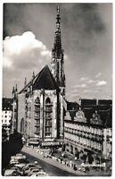 Ansichtskarte Würzburg - Blick auf die Marienkapelle - schwarz/weiß