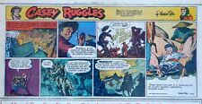 Casey Ruggles by Warren Tufts - full color Sunday comic page - March 19, 1950