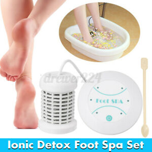 Personal Ionic Detox Foot Basin Bath Spa Cleanse Machine Array Health Car