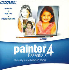 Corel Painter 4 Essentials, Drawing, Painting, Home Art Studio Software PC & MAC