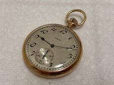 c 1923 engraved case Eagle old pocket watch Elgin Usa