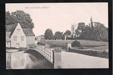 L@@K  Mill and Church Fairford Gloucestershire 1940's ? Postcard ~ QUALITY CARD