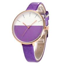 Fashion Women Beautiful Leather Delicate Watch Luxury Analog Quartz Watch CA