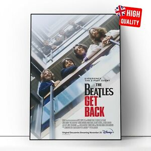 The Beatles Get Back 2021 TV Series Documentary Poster   A5 A4 A3 A2 A1  
