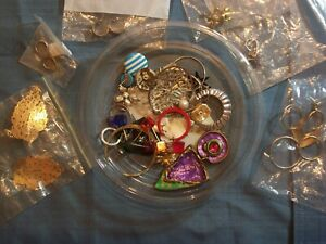 JEWELERY EARRING LOT – PAIRS SINGLES PARTS