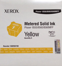 Xerox 8550 8560 8560MFP Yellow gelb Phaser ColorQube Metered Solid Ink108R00708