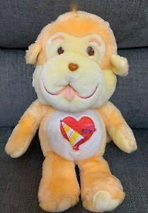 """Playful Heart Monkey 1980s Original Care Bear Cousin Rare Kenner 1985 13"""" VGC"""