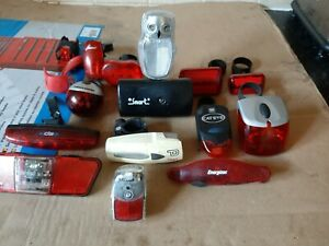Retro CATEYE / Smart / Various Front and Rear Bicycle Lights JOBLOT X 14 CHEAP