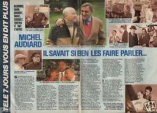 Coupure de presse Clipping 1985 Michel Audiard  (2 pages)