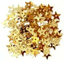 300 x 1.2cm gold stars - sequins Craft, sewing, card making  / Star Sequins