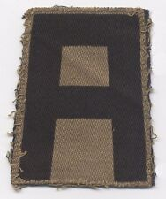 WWII Theater-Made US 1st Army Shoulder Patch