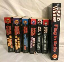 David Weber Honor Harrington Series / 6 Paperback 1 Hardcover/  Lot of 7