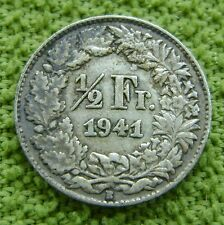 Zwitserland - Switzerland - 1/2 franc 1941