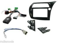 CTKHD01 Honda Civic 06-11  Double Din Car Stereo Fitting Kit stalk control RHD