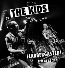 THE KIDS - Flabbergasted! Live 2001 Starman Records Punk Belgium Vinyl NEW