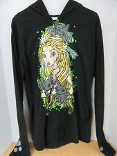 Sweatshirt How to Train A Dragon Hoodie Wings Lace Up Back Size XL Cupcake Cult