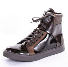 Kenneth Cole New York Mens Double Header II Patent Leather High Top Sneakers 12