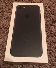 ****EMPTY BOX*** Iphone 7 32G Black Empty Box Only With Stickers Instructions J5