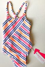 Seafolly Seaside Lane Weave Swimsuit 6-12 Months NWT Retails $56 Price $24