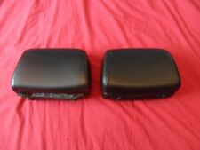 BMW E36 Coupe 1993 Front Seat Original Black Leather Head Rest Covers and Foam