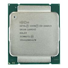 Intel CPU Xeon E5-2660v3 10Core 2,60GHz 25MB Cache SR1XR Socket FCLGA2011