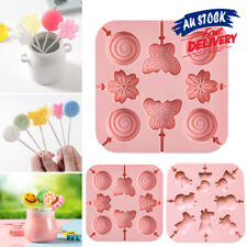 3D Mold Cookie Ice Tray Moulds Baking Jelly Chocolate Silicone Candy