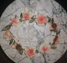 Flower crown peach  Floral Head Piece