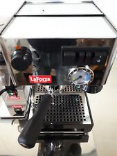 LaForza F21M Stainless Steel Espresso Machine 220v or 110V Totally Made in Italy