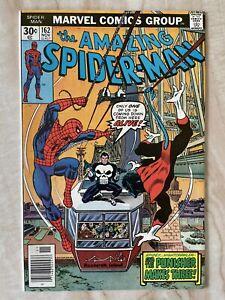 AMAZING SPIDER-MAN #162-1ST APPEARANCE JIGSAW-PUNISHER-NIGHTCRAWLER NM 9.4
