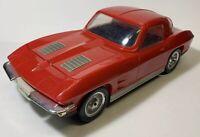 Vintage 1963 Corvette VHS Rewinder-Model 920066779-GM Brand- Red 63 Vette
