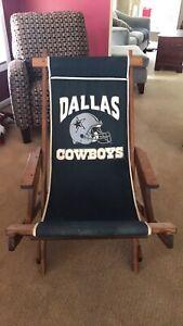 Dallas Cowboys Canvas Sling Chair.