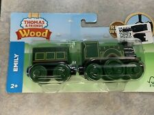 Thomas and Friends EMILY & Tender WOODEN RAILWAY Train Set New In Package