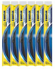 "Rain-X Latitude 8 In 1 28"" Windshield Wiper Blade Pack of 6"