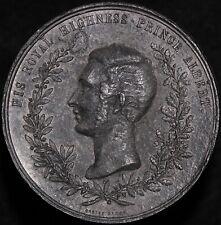 More details for prince albert restrike medal 'white metal' | medals | km coins
