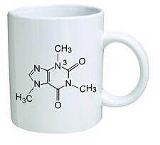 Funny Mug - Caffeine Molecule, Chemistry - 11 OZ Coffee Mugs - Funny Inspir
