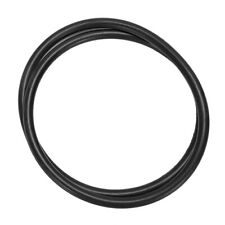 BLACK RUBBER WIRING GROMMETS 6.4MM x 4.75MM PACK x 100
