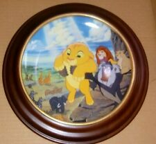 Bradford Exchange Disney Lion King The Circle of Life Collector Plate w Coa
